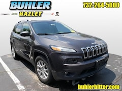 2017 Jeep Cherokee Latitude 4x4  certified SUV 1C4PJMCB1HW594901 for sale in Monmouth County, NJ at Buhler Chrysler Jeep Dodge Ram