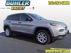 2015 Jeep Cherokee Sport 4x4 SUV 1C4PJMAB1FW574728 for sale in Monmouth County, NJ at Buhler Chrysler Jeep Dodge Ram