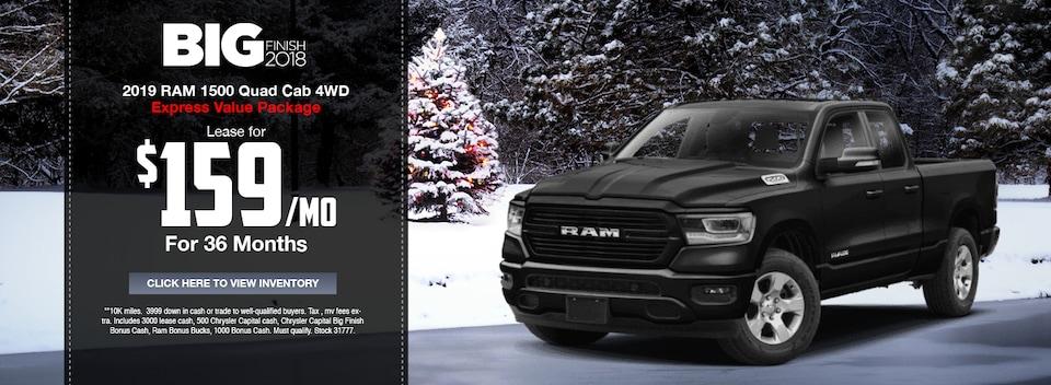 2019 RAM 1500 Quad Cab 4WD Special