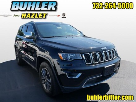 2017 Jeep Grand Cherokee Limited 4x4  CERTIFIED SUV