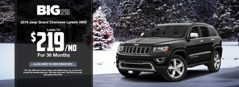 2019 Jeep Grand Cherokee Laredo 4WD Special