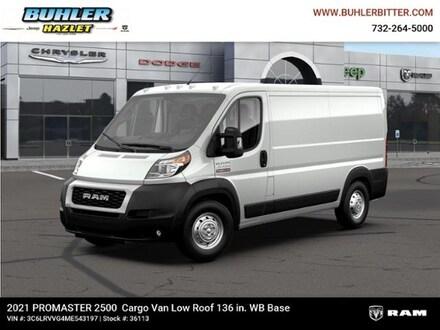 2021 Ram ProMaster 2500 CARGO VAN LOW ROOF 136 WB Cargo Van