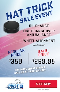 Hat Trick Sale Event