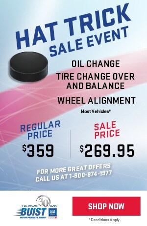Hat Trick Sale Event
