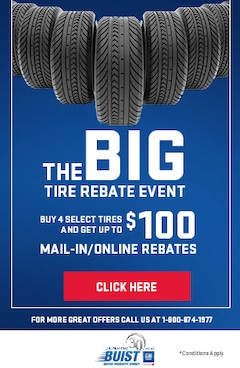 The Big Tire Rebate Event