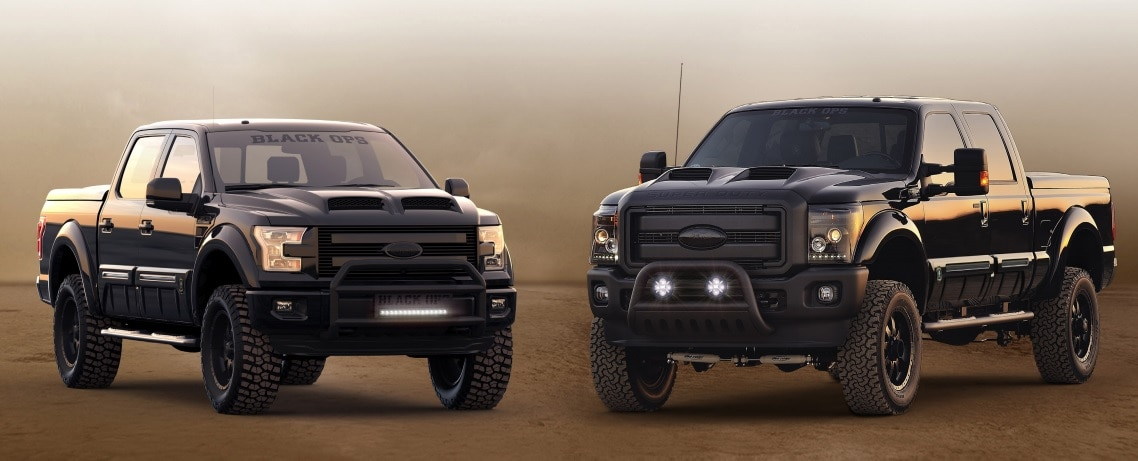 F-150 Tuscany FTX, TONKA and BLACK OPS | Bull Valley Ford