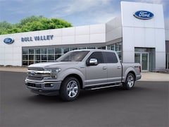New 2020 Ford F-150 Lariat Chrome Package 502A SuperCrew in Woodstock, IL