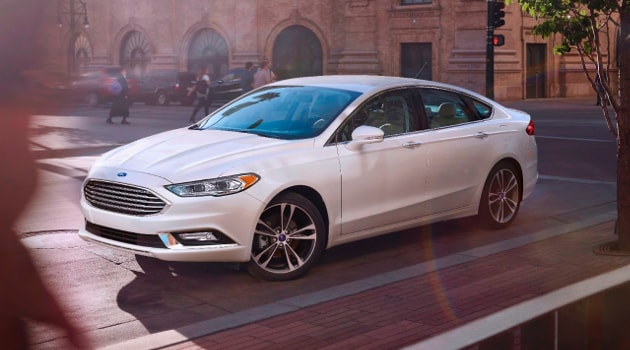 2017 Ford Fusion Family sedan in Woodstock, IL