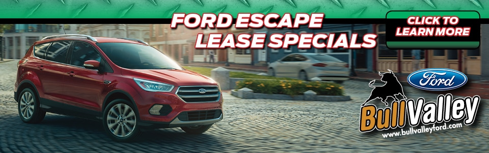 Ford Escape Lease Deals in Woodstock, IL