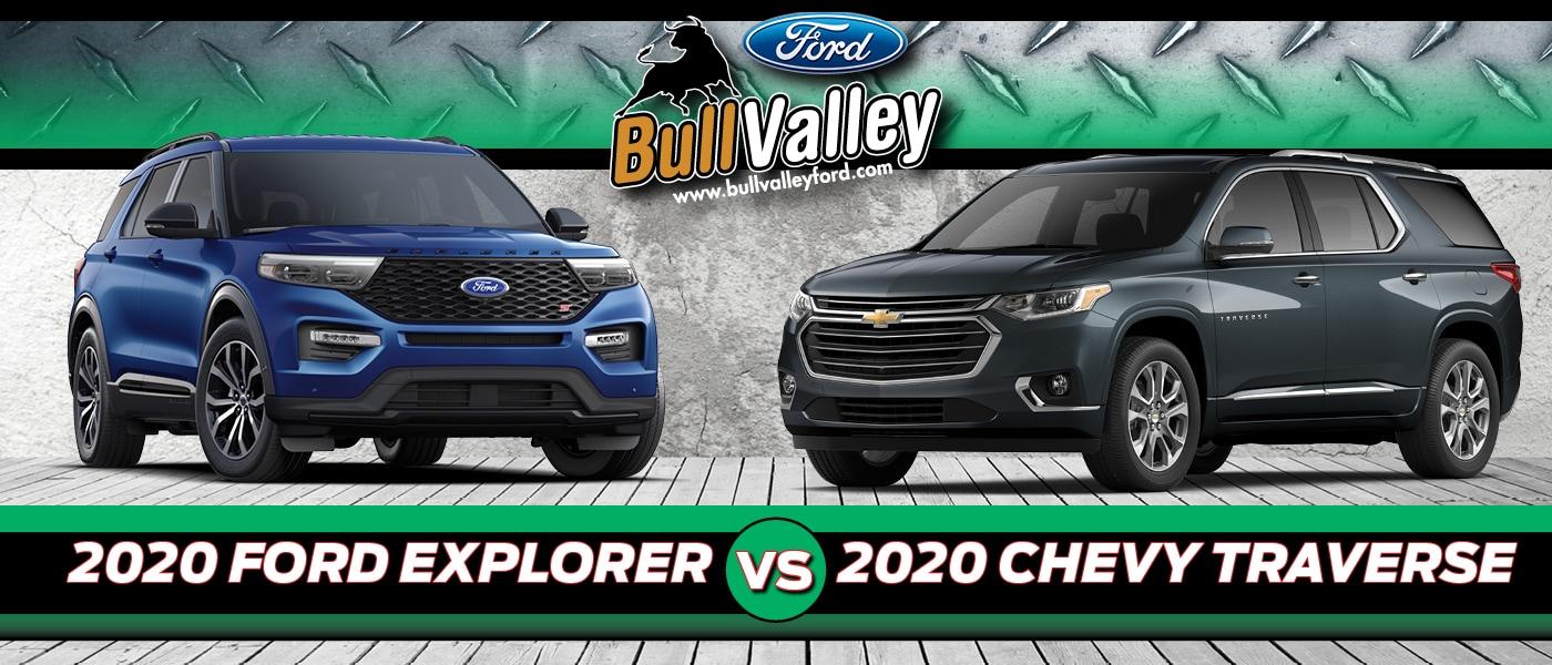 2020 Chevrolet Traverse vs. 2020 Ford Explorer   Bull ...