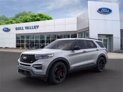 New 2020 Ford Explorer ST 400A Sport Utility in Woodstock, IL