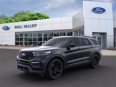 New 2020 Ford Explorer ST Sport Utility in Woodstock, IL