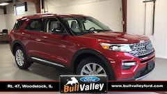 New 2020 Ford Explorer Limited 300A Sport Utility in Woodstock, IL