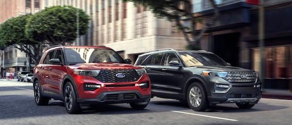 2020 Ford Explorer Models Xlt Vs Limited Vs St Vs Platinum