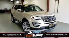 Used 2017 Ford Explorer Limited SUV in Woodstock, IL