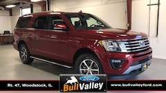 New 2019 Ford Expedition Max XLT 202A Sport Utility in Woodstock, IL