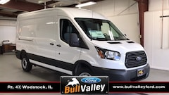 New 2019 Ford Transit-250 Base 101A Medium Roof Cargo Van in Woodstock, IL
