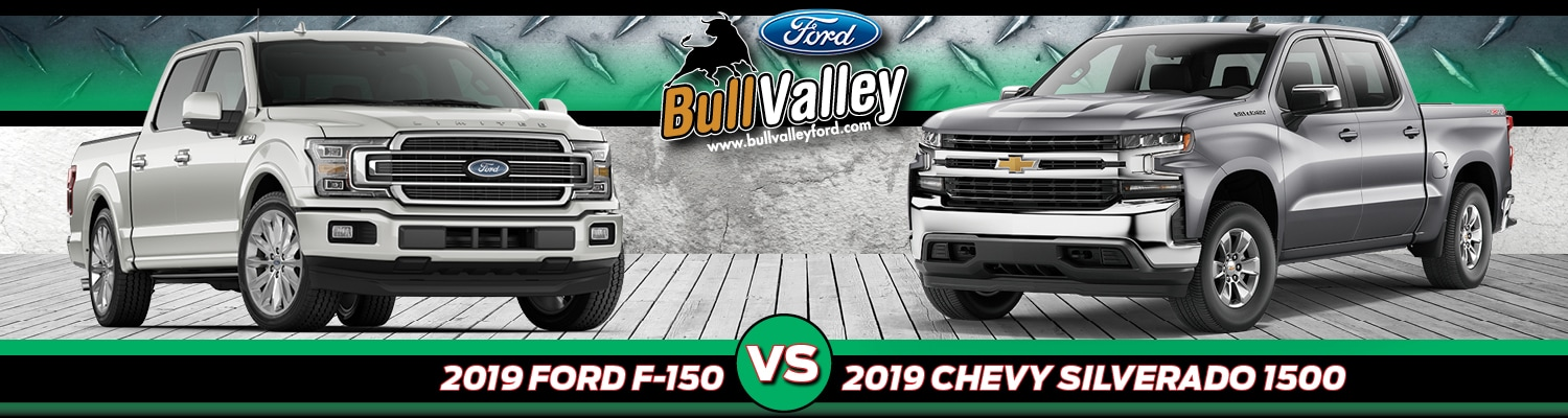 2019 Ford F-150 vs. 2019 Chevy Silverado 1500
