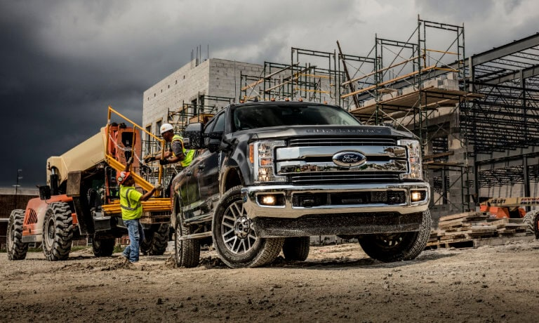 2019 Ford F-350 Towing Construction Equipment