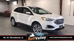 New 2020 Ford Edge Titanium 301A Sport Utility in Woodstock, IL