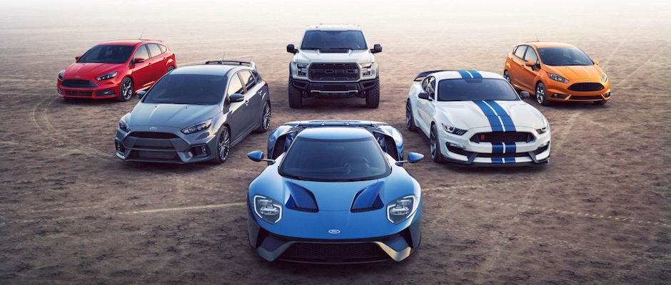 The Ford Performance lineup