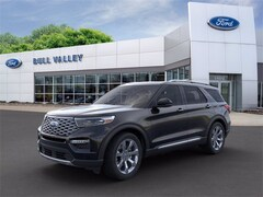 New 2020 Ford Explorer Platinum 600A Sport Utility in Woodstock, IL