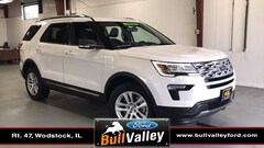New 2019 Ford Explorer XLT 201A Sport Utility in Woodstock, IL
