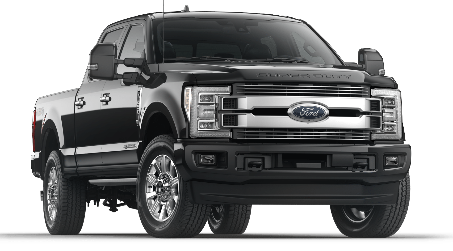 2019 Black Ford F-250 Limited