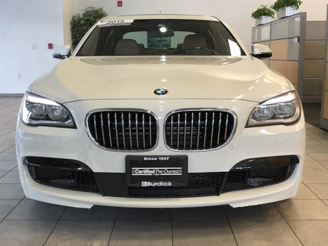 Pre-Owned 2015 BMW 750Li For Sale at Burdick BMW   VIN: WBAYF8C57FG245558