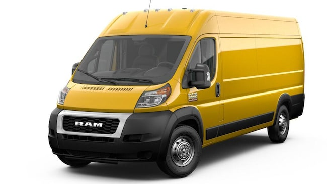 New 2019 Ram ProMaster 3500 CARGO VAN HIGH ROOF 159 WB EXT Extended Cargo Van Near Syracuse