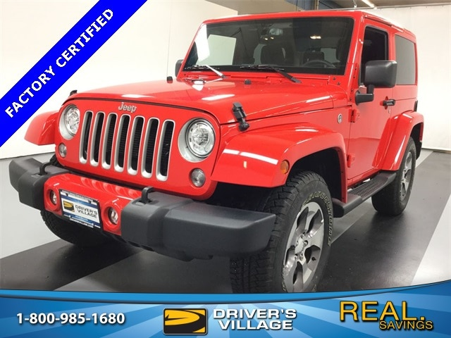Drivers Village Jeep >> Used 2018 Jeep Wrangler Jk For Sale At Driver S Village