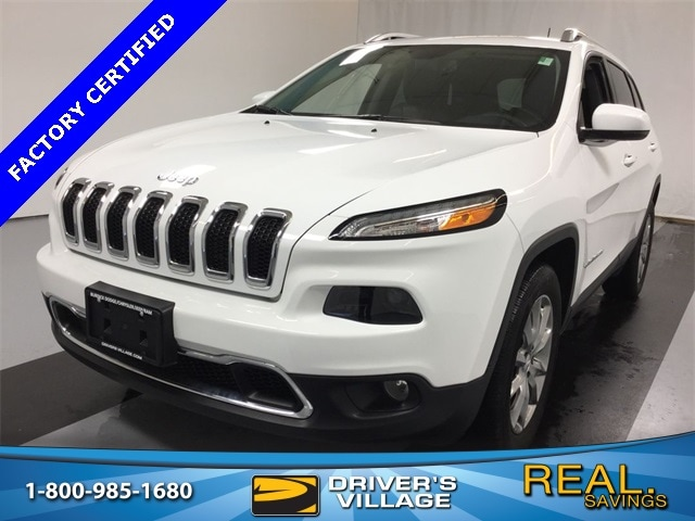 Drivers Village Jeep >> Used 2018 Jeep Cherokee For Sale At Driver S Village Vin