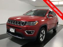 Certified Used 2019 Jeep Compass Limited 4x4 SUV for sale near Syracuse, NY, at Burdick Dodge Chrysler Jeep RAM