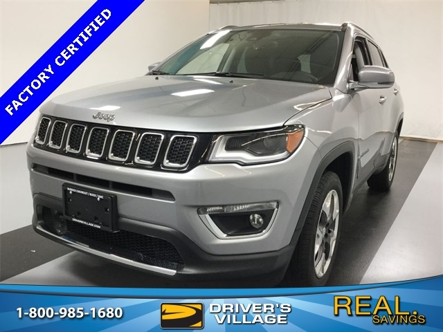 Drivers Village Jeep >> Used 2018 Jeep Compass For Sale At Driver S Village Vin