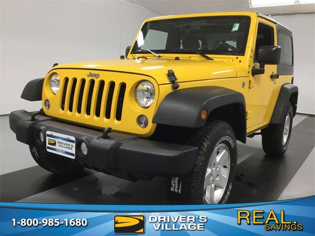 Drivers Village Jeep >> Used 2015 Jeep Wrangler For Sale At Driver S Village Vin
