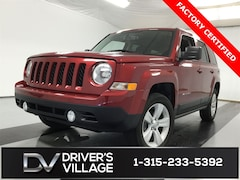 Certified Used 2017 Jeep Patriot Latitude 4x4 SUV for sale near Syracuse, NY, at Burdick Dodge Chrysler Jeep RAM