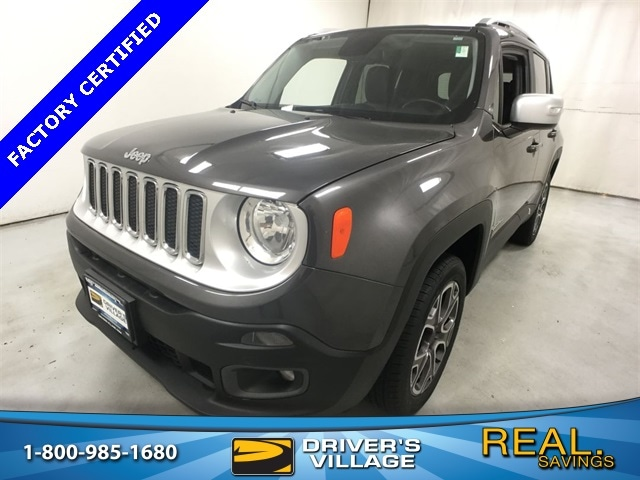 Drivers Village Jeep >> Used 2017 Jeep Renegade For Sale At Driver S Village Vin