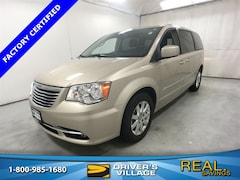 Certified Used 2015 Chrysler Town & Country Touring Van for sale near Syracuse, NY, at Burdick Dodge Chrysler Jeep RAM