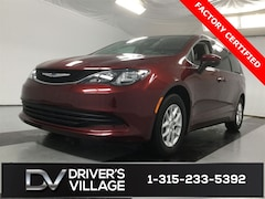 Certified Used 2018 Chrysler Pacifica LX Van for sale near Syracuse, NY, at Burdick Dodge Chrysler Jeep RAM