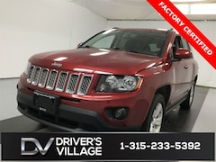 Certified Used 2017 Jeep Compass Latitude 4x4 SUV for sale near Syracuse, NY, at Burdick Dodge Chrysler Jeep RAM