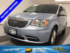 Certified Used 2016 Chrysler Town & Country Touring-L Van LWB Passenger Van for sale near Syracuse, NY, at Burdick Dodge Chrysler Jeep RAM
