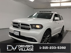 Certified Used 2017 Dodge Durango GT SUV for sale near Syracuse, NY, at Burdick Dodge Chrysler Jeep RAM
