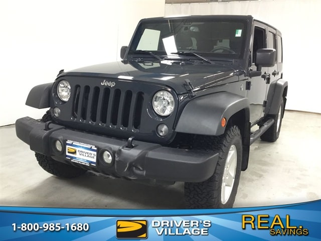 Drivers Village Jeep >> Used 2017 Jeep Wrangler Jk Unlimited For Sale At Driver S Village Vin 1c4bjwdg2hl625929