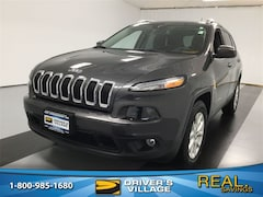 Certified Used 2016 Jeep Cherokee Latitude 4x4 SUV for sale near Syracuse, NY, at Burdick Dodge Chrysler Jeep RAM