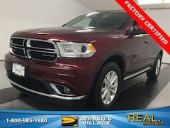 Certified Used 2019 Dodge Durango SXT SUV for sale near Syracuse, NY, at Burdick Dodge Chrysler Jeep RAM