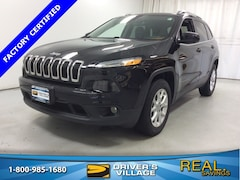 Certified Used 2016 Jeep Cherokee Latitude 4x4 SUV for sale near Syracuse, NY, at Burdick Dodge Chrysler Jeep RAM