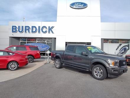 2018 Ford F-150 STX Super Crew 4x4 Truck