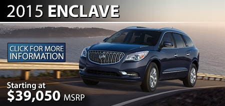 Learn More About the 2015 Buick Enclave at Burdick GMC