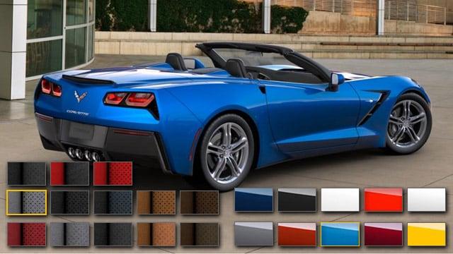 2016 Chevrolet Corvette Color Options | Burdick Chevrolet ...