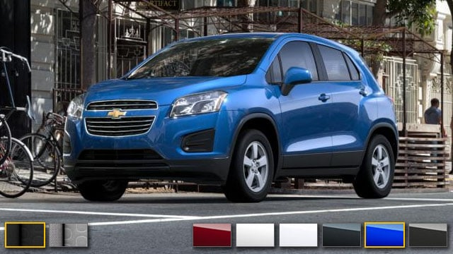 2016 Chevrolet Trax Color Options Burdick Chevrolet Buick Gmc